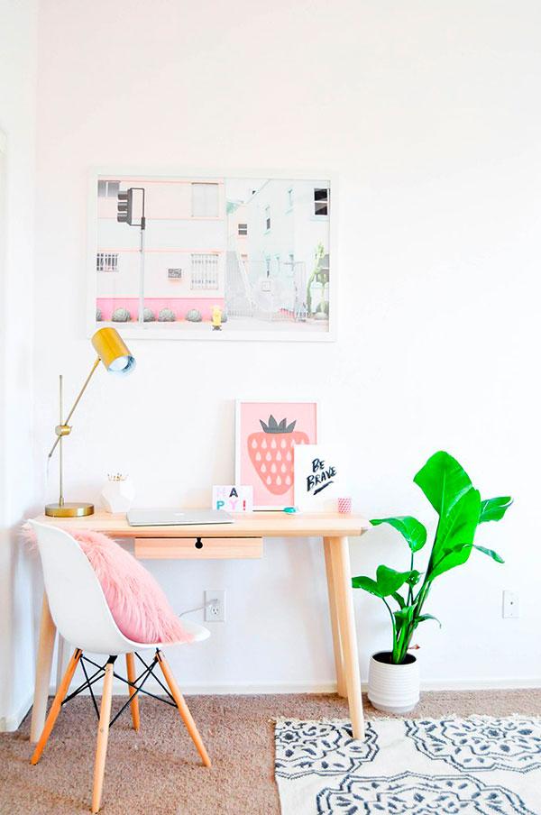 trucos de decoración con colores pastel