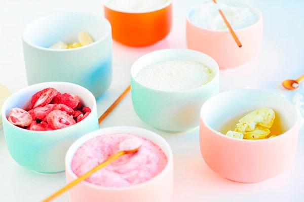 Tarros minimalistas en color pastel para decorar como los profesionales