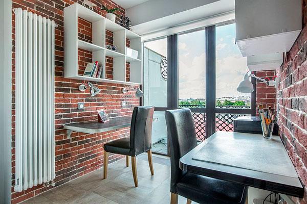 Aprovechar el espacio vertical en oficinas pequeñas