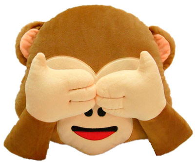 peluche mono emoticono whatsapp