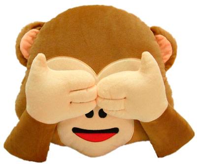 peluche mono emoticono whatsapp