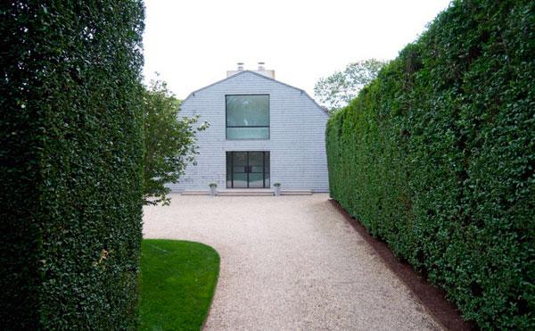 setos clásicos para sumar privacidad al jardín exterior