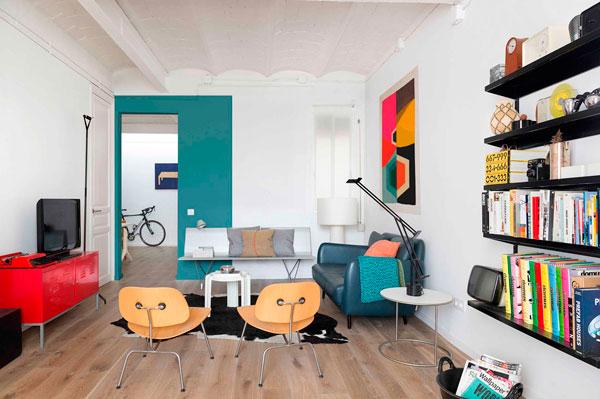 Apartamento estilo Loft Escandinavo en Barcelona