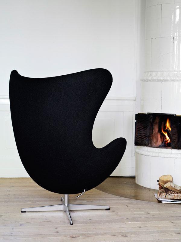 Silla Egg de diseño industrial