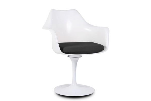 Silla Tulipa de Eero Saarinen diseño clásico industrial