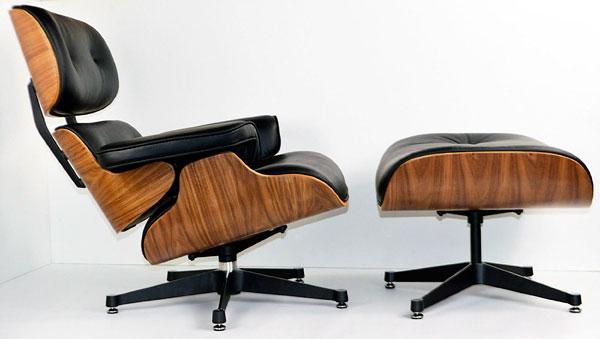 Sillón de diseño industrial Charles Eames Ottoman