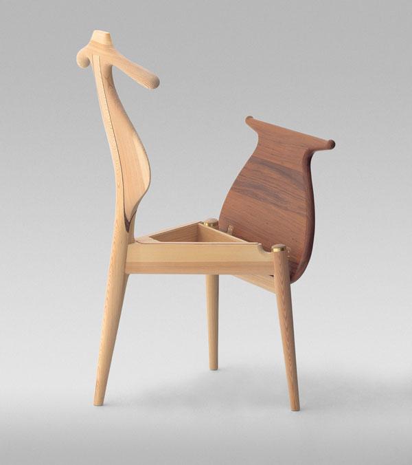 Valet Chair sillas icónicas industriales de mediados de siglo