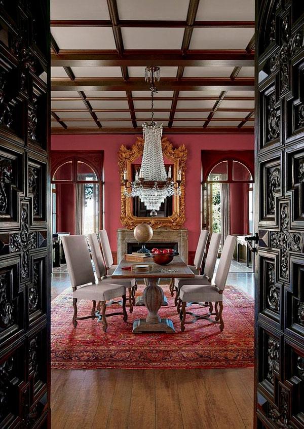 Lámparas muebles victorianos