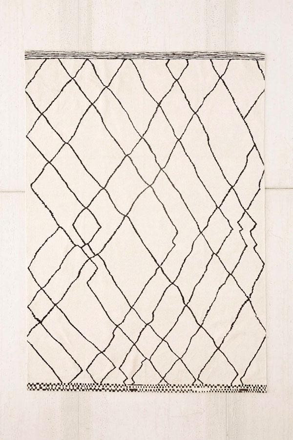 Tendencias en alfombras con líneas sin sentido