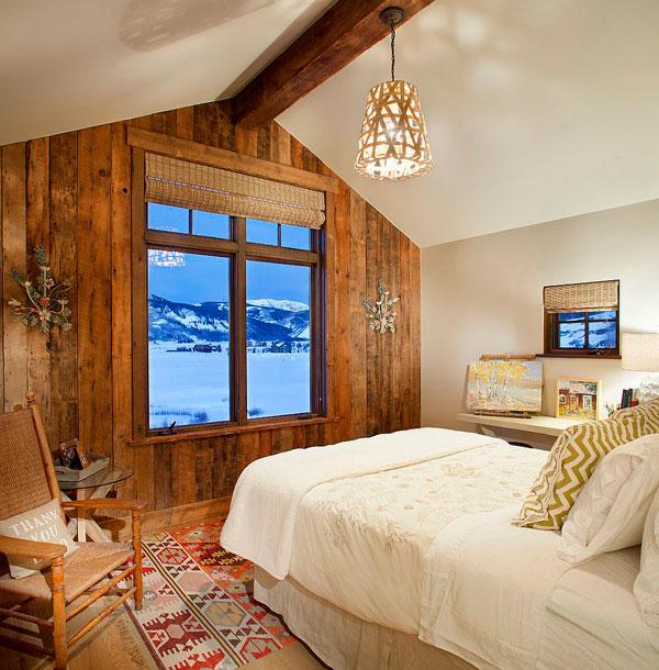Wood Accent Wall Bedroom Ideas: 20 Dormitorios Con Pared De Madera Reciclada