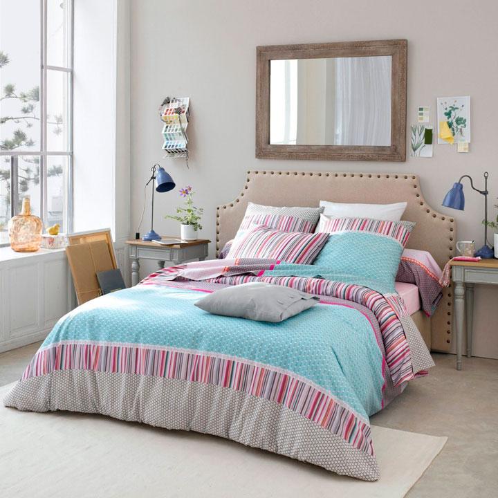 Edredón para decorar un dormitorio de chicas
