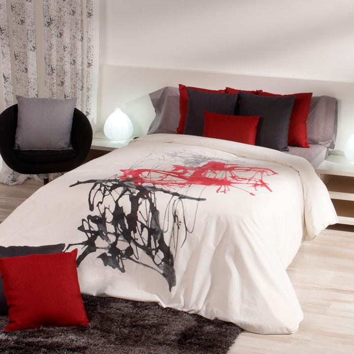 Ropa de cama con un diseño moderno