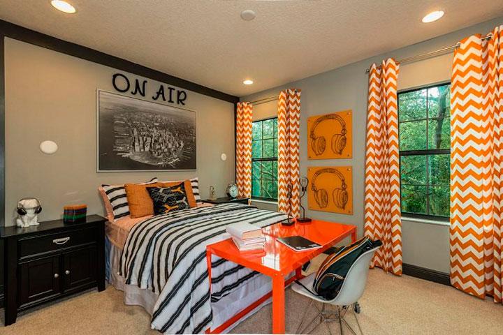 Ideas de decoración de habitaciones juveniles para chico