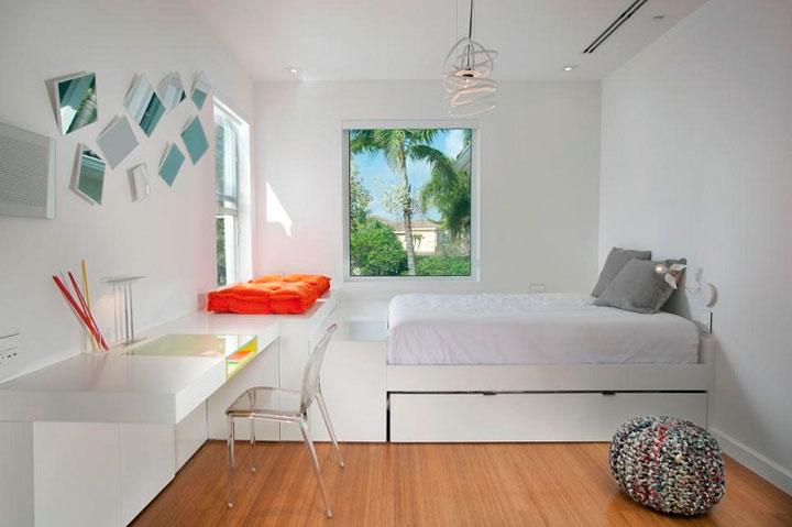 cmo decorar una habitacin juvenil blanca y neutra with como decorar una habitacion