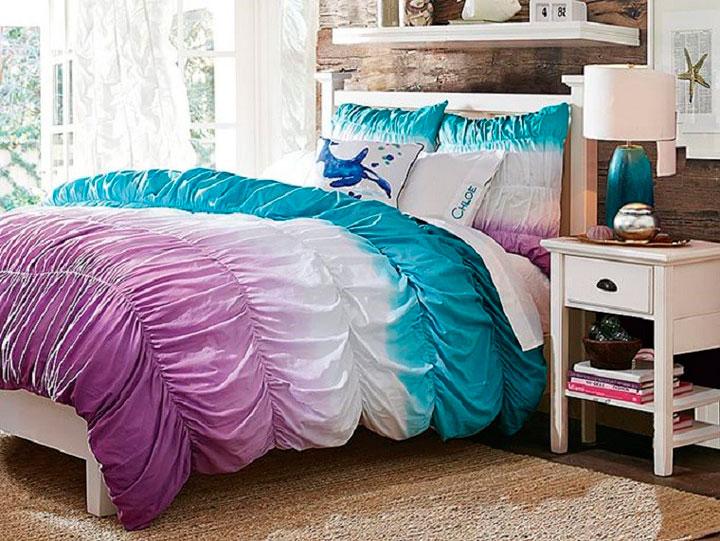 Decorar un dormitorio de chica estilo rústico