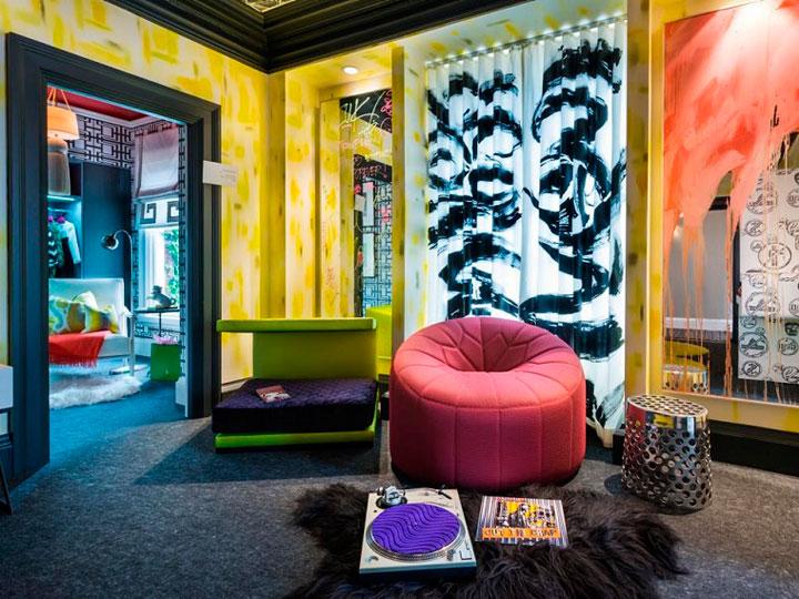 Dormitorio juvenil estilo moderno