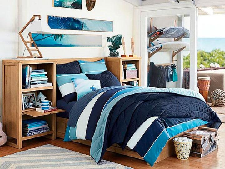 Ideas de decoración para un dormitorio juvenil moderno