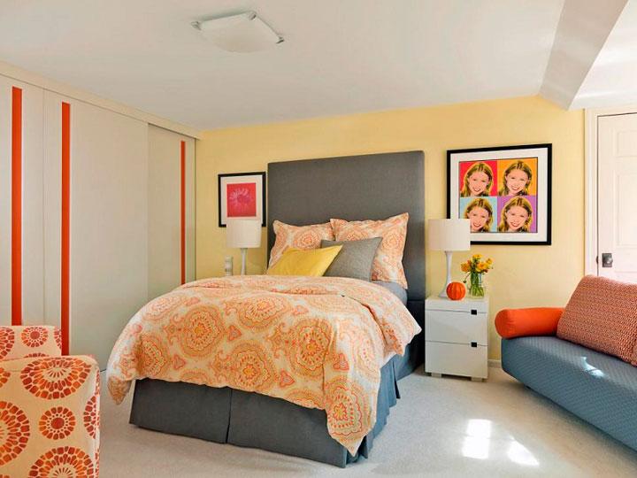 Dormitorios juveniles en color crema acogedores
