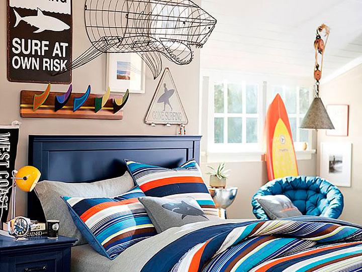 Dormitorios juveniles de chico ideas de decoración