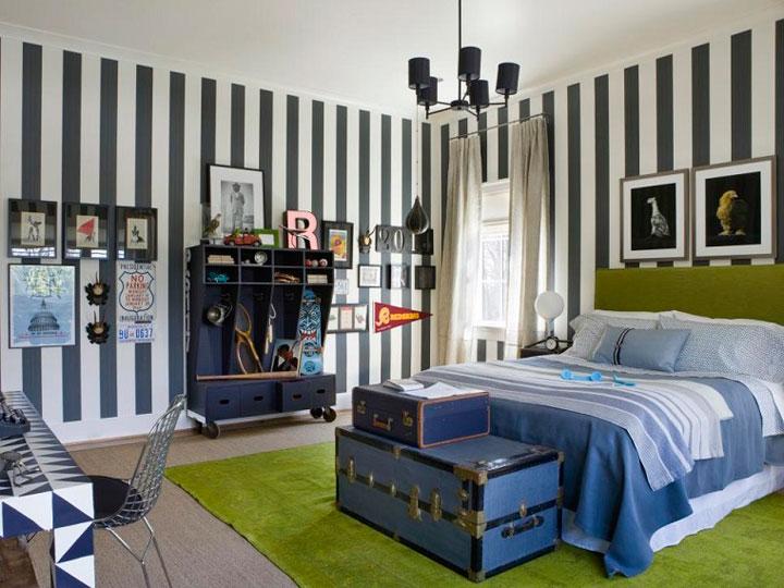 Cómo decorar una habitación de chico moderna