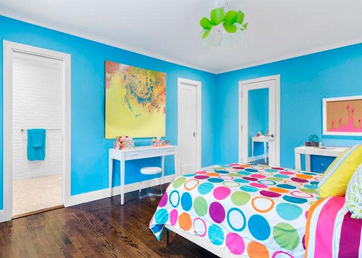 Decoracin habitacion juvenil trendy literas azules - Decoracion habitaciones juveniles nino ...