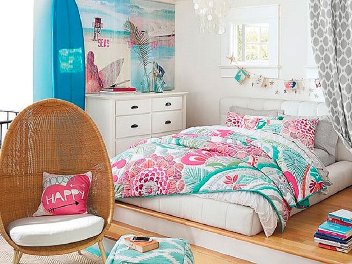 C mo decorar una habitaci n juvenil en 2019 ideas con fotos - Decoracion habitaciones juveniles nina ...