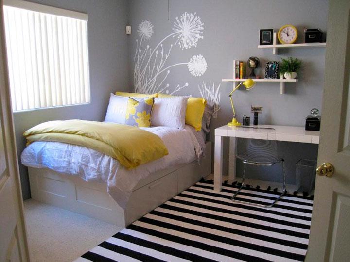 C mo decorar una habitaci n juvenil en 2018 ideas con fotos - Como decorar una habitacion pequena juvenil ...