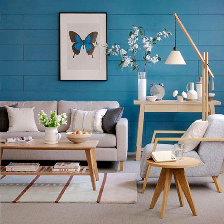 Los mejores colores para salones en 2017 decorar hogar - Pintar un salon comedor ...