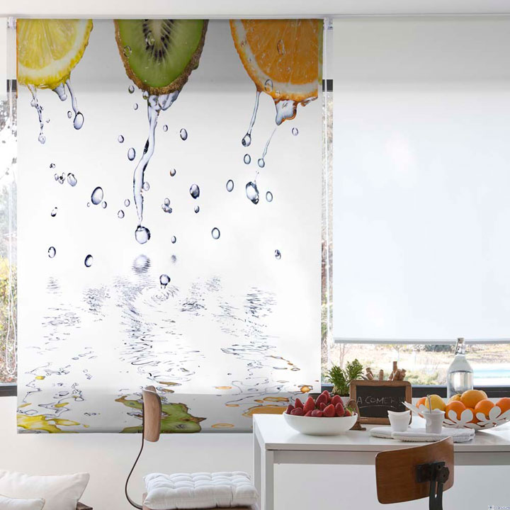 Cortinas de cocina ideas y fotos para este 2018 decorar - Cortinas screen cocina ...
