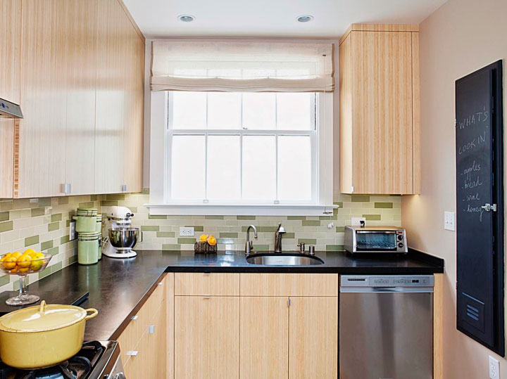 cortinas para la cocina tipo estores