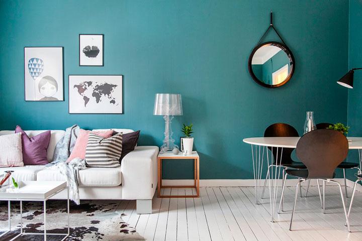 Los mejores colores para salones en 2017 decorar hogar - Como pintar un salon moderno ...
