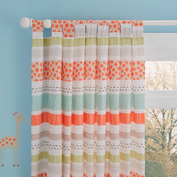 Decorar cortinas infantiles de niños y niñas