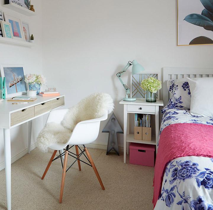 Ideas para decorar dormitorio juvenil de niña