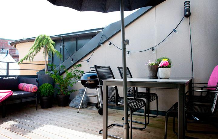 Decorar un duplex con terraza