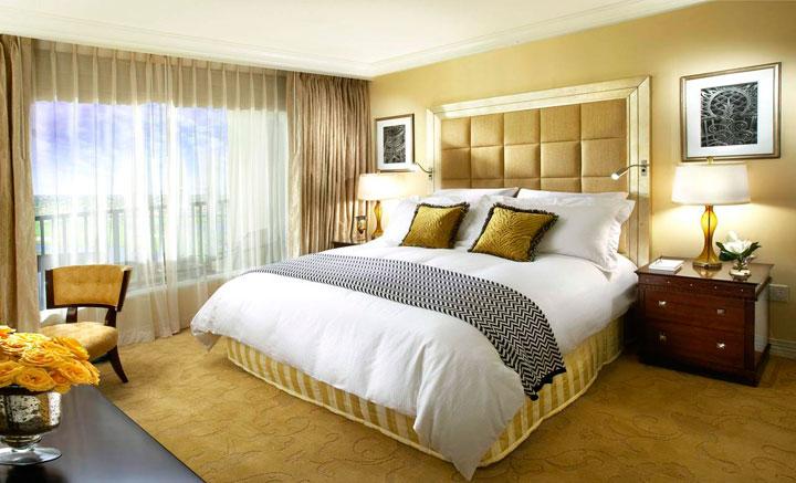 Cortinas para dormitorio con ventanas grandes