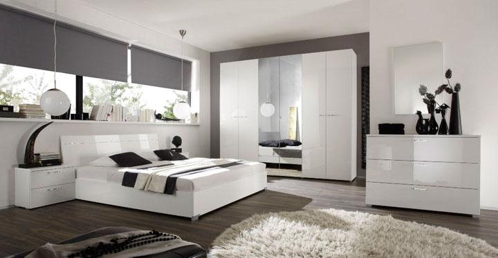 Cortinas dormitorio hombre estilo moderno