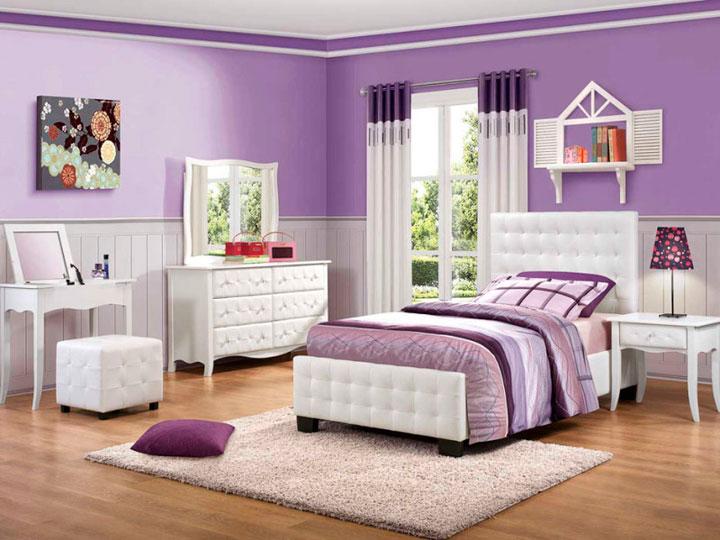 cortinas para dormitorio juvenil de chica - Cortinas Habitacion Juvenil