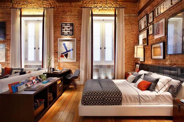 Cortinas para habitación con ventanas pequeñas