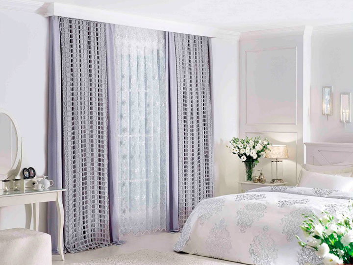 Cortinas para dormitorio ideas de decoraci n 2018 for Tipos de cortinas para dormitorios