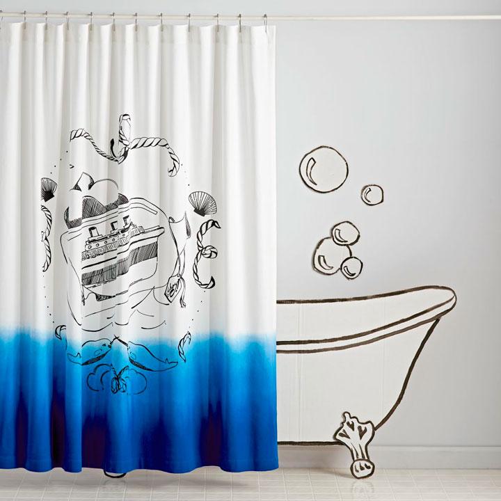 Cortinas para la ducha divertidas
