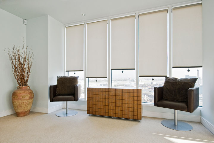 cortinas modernas enrollables independientes
