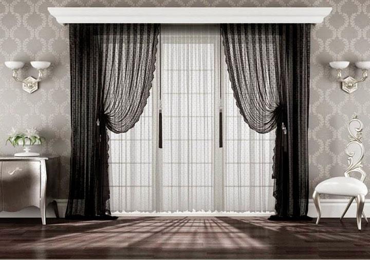 Cortinas para salones clásicos