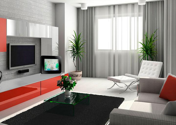 Cortinas para el sal n comedor trucos para elegir la mejor for Decoracion apartamentos pequenos modernos 2017
