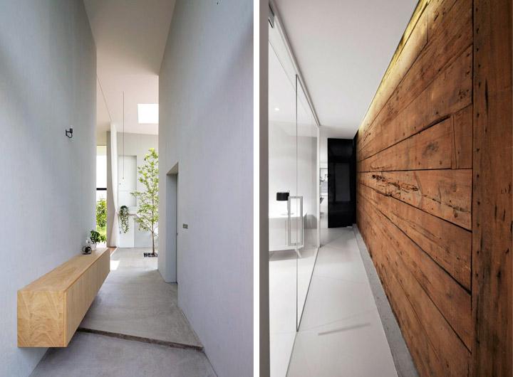 Decoración de pasillos modernos y bonitos