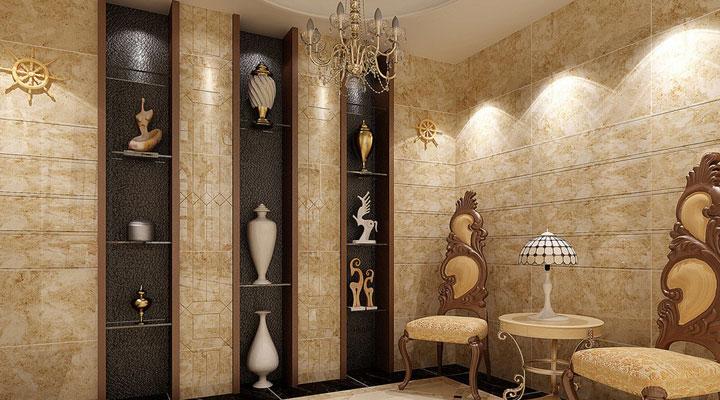 Decorar piso al estilo romano con ornamentación