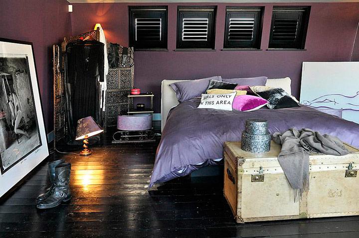 Habitaciones Bohemias estilo Boho Chic retro