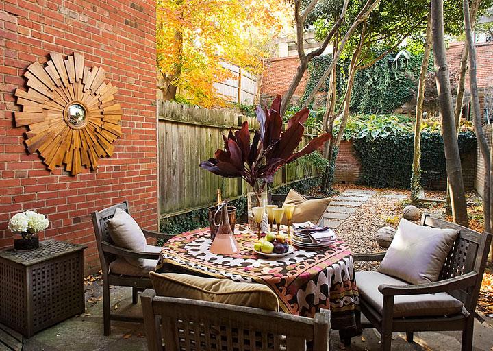 Espejo de sol para la terraza y el patio