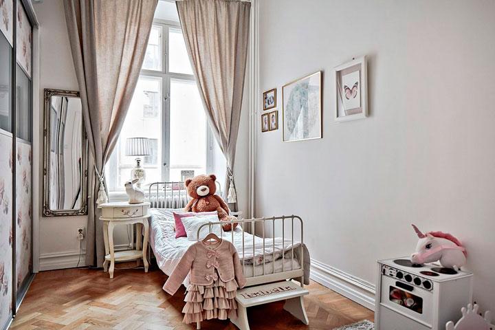 Habitaciones de niños vintage elegantes