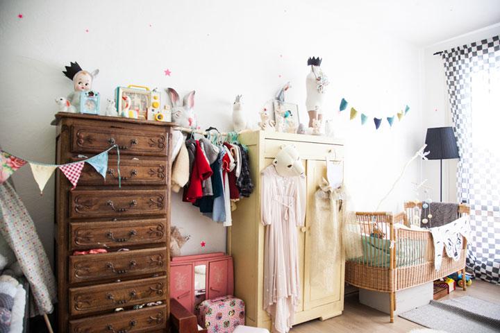 Habitaciones de niños vintage ideas de decoración