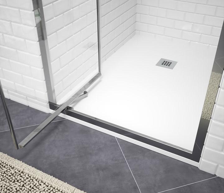 Mamparas para baños pequeños sin espacio